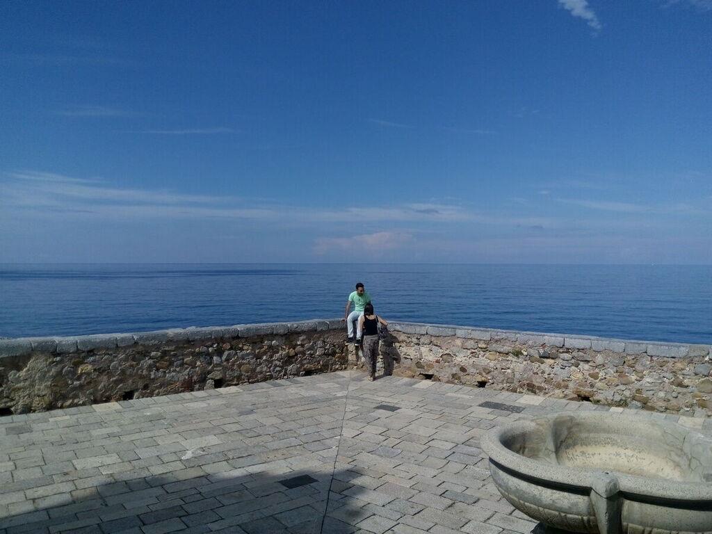 Vista mare da Cefalù
