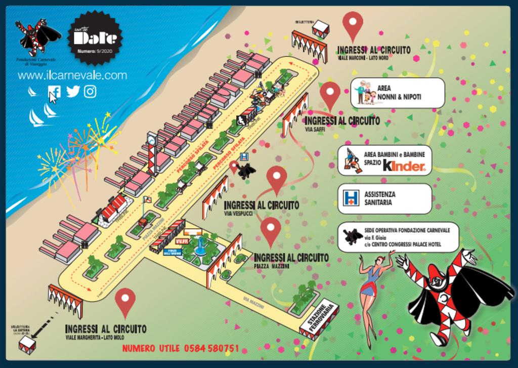 Der Karneval von Viareggio 2021