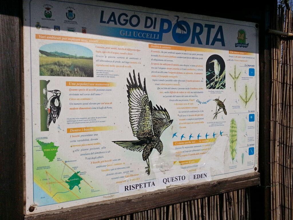 Mappa Lago di Porta