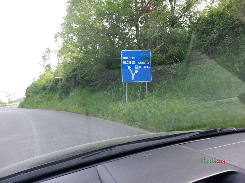 Verso Montieri