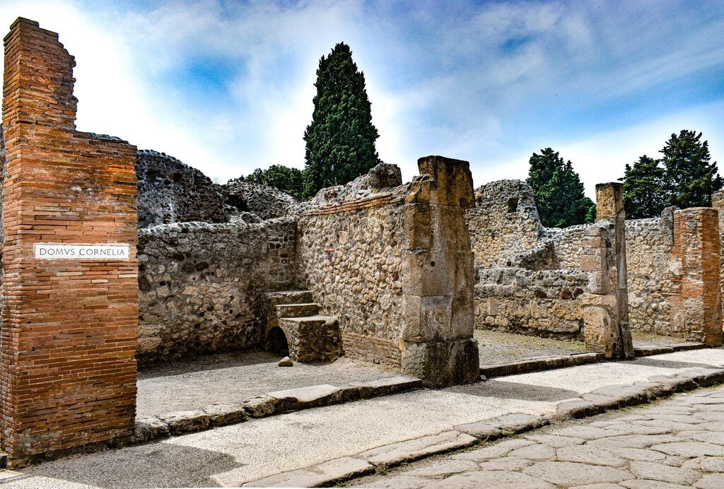 Pompeii - the fast food of the ancient Romans