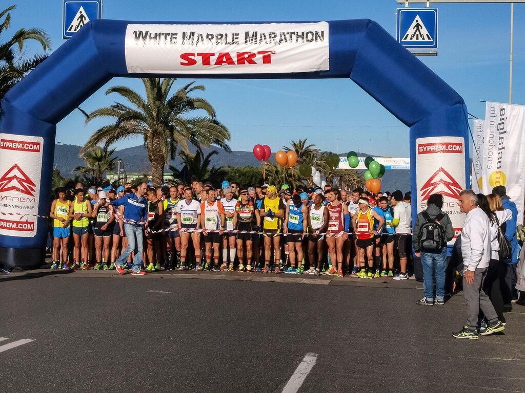 White Marble Marathon Partenza