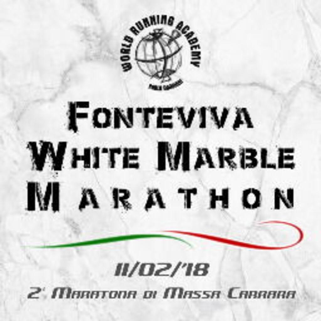Weißer Marmor Marathon in Massa-Carrara