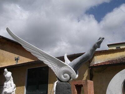 Statue in Pietrasanta