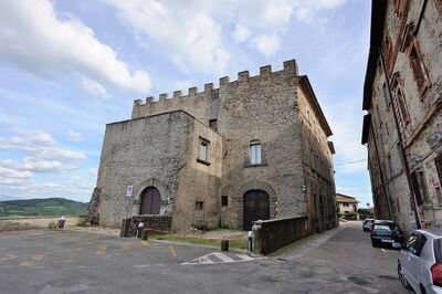 Castle Monte Santa Maria Tiberina