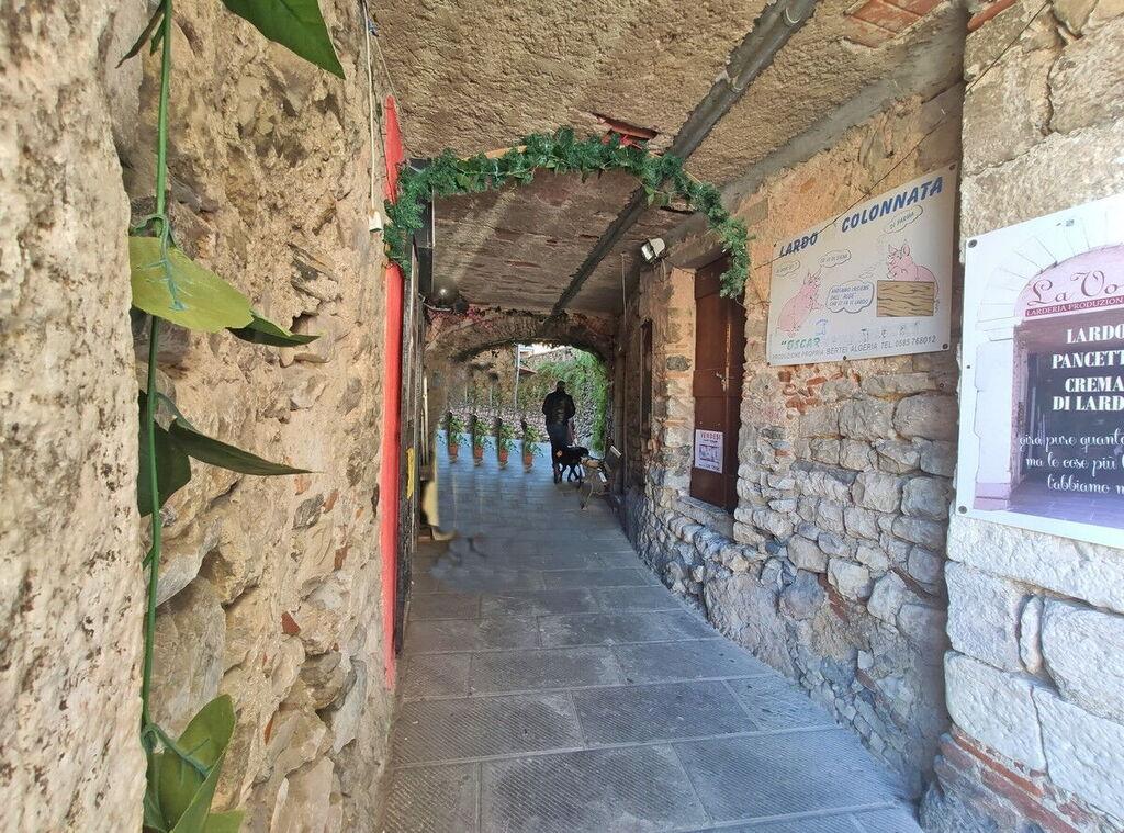 Alley in Colonnata