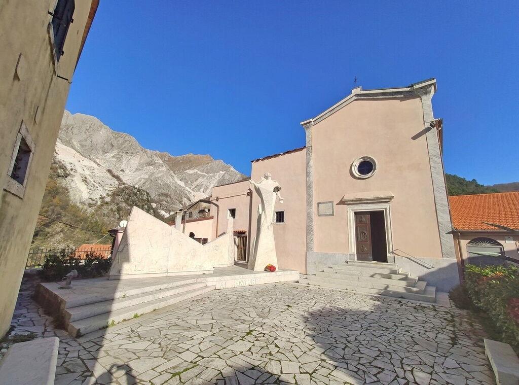 Church in Colonnata