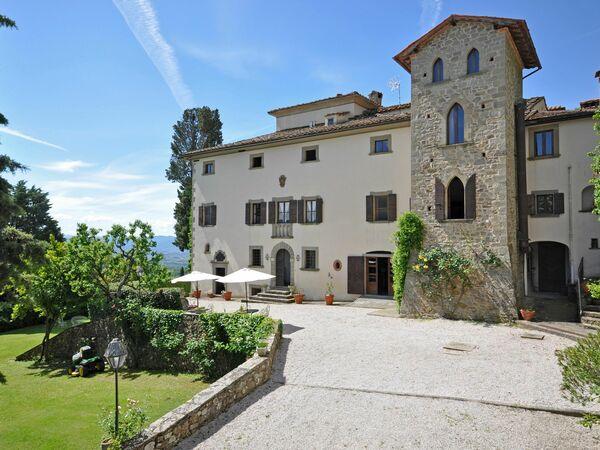 Civetta, Apartment for rent in Capolona, Tuscany