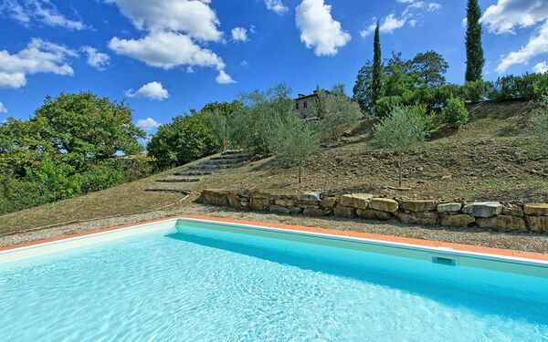Castellina, Apartment for rent in Tregole, Tuscany