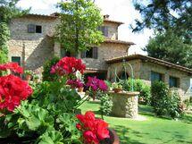 Querceto, Apartment for rent in Reggello, Tuscany