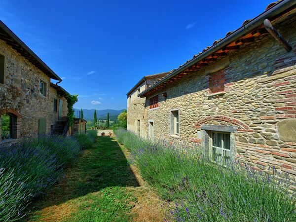 Bramasole, Apartment for rent in Anghiari, Tuscany