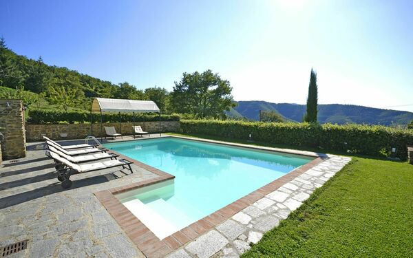 Bagnolo, Villa for rent in Cortona, Tuscany