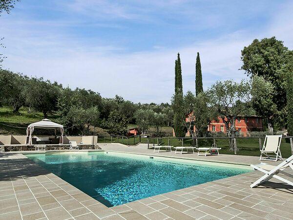Al Valentino, Villa for rent in Stiava, Tuscany