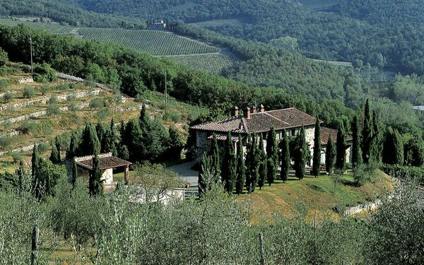 Toskánsko, Radda In Chianti, Campassole