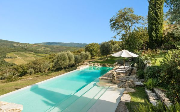 Camporempoli, Villa for rent in Lucarelli, Tuscany