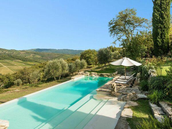 Camporempoli, Villa for rent in Lucarelli, Tuscany