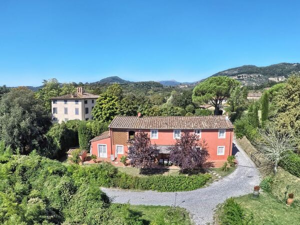 Toskánsko, Lucca, Casa Rosa