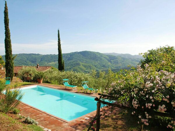 Damiano, Villa for rent in Monsagrati, Tuscany