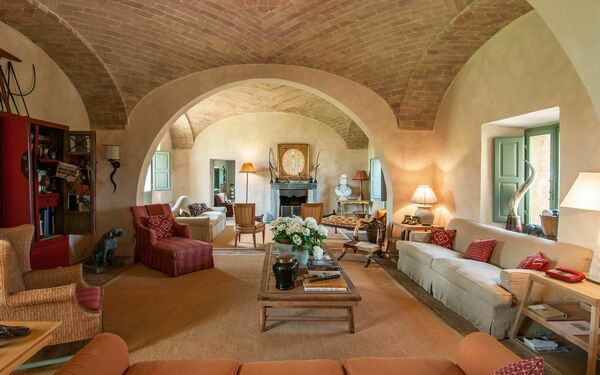 Fontanelle 10, Villa for rent in Montalcino, Tuscany