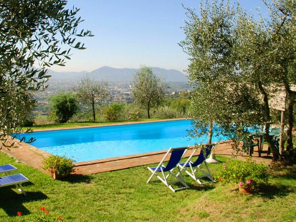 Giannello, Villa for rent in Matraia, Tuscany