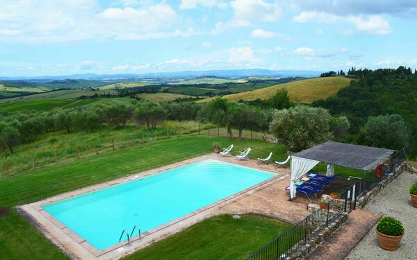 La Corte Di Campalli, Villa for rent in San Leonino, Tuscany