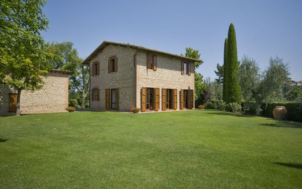 La Fonte, Villa for rent in Palaia, Tuscany