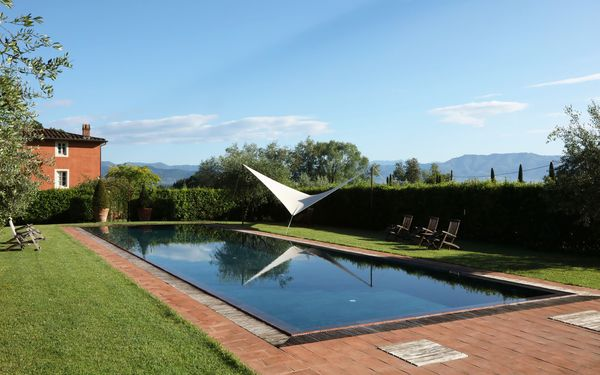 La Flora, Villa for rent in Guamo, Tuscany