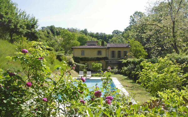 Molino Santa Lucia, Villa for rent in San Gimignano, Tuscany