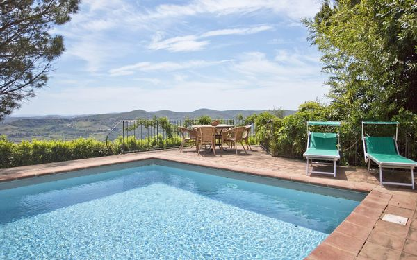 Pozza Di Volpaia, Villa for rent in Volpaia, Tuscany
