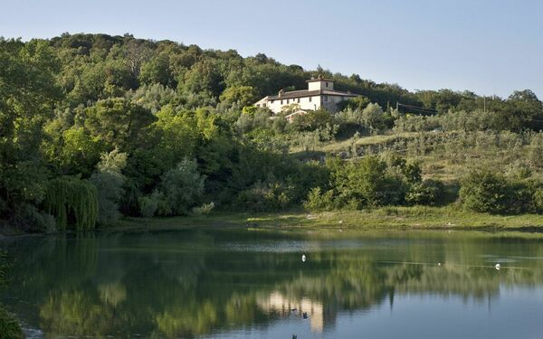 Ricavoli, Villa for rent in Torre a Cona, Tuscany