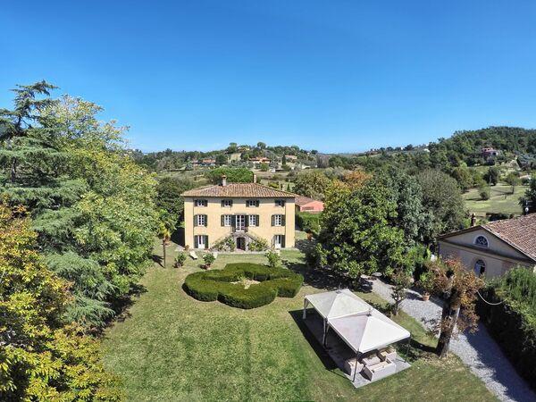 Toskánsko, Lucca, Villa Clara 20
