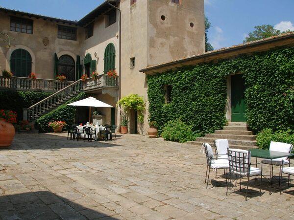 Toskánsko, Montelopio, Villa Di Montelopio