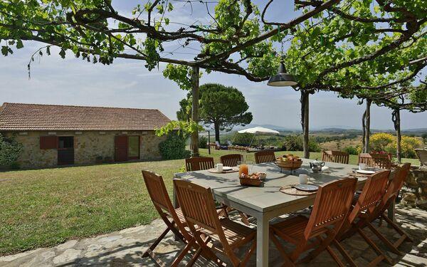Poggio Due Querce, Villa for rent in Poderone, Tuscany