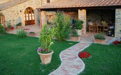 Nr.2: giardino e la terrazza