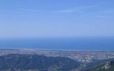 Casa Marta: View of the sea and Versilia's beaches
