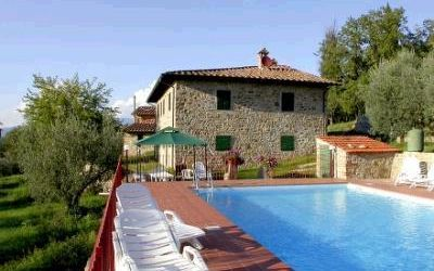 Querciolaia, Villa for rent in Pergine Valdarno, Tuscany
