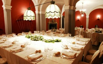 Borgia Castle: Biliard room during a wedding