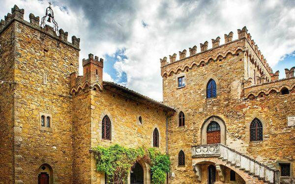 Borgia Castle, Умбрия, Passignano Sul Trasimeno