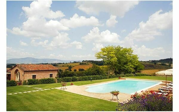 Poggiobello, Apartment for rent in La Villa-farneta, Tuscany
