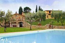 Toskánsko, Lucignano, Villa Ulivi