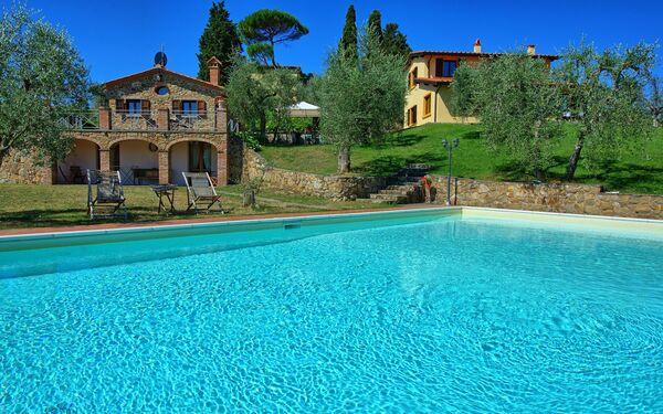 Villa Ulivi, Villa for rent in Lucignano, Tuscany