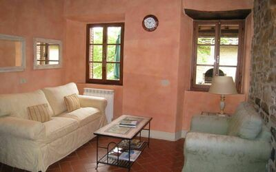 Villa Gallo Nero: Sitting room in the ground floor