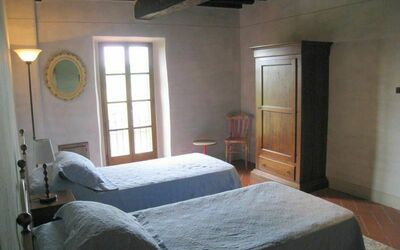 Villa Gallo Nero: Another view of the 2nd bedroom in the 1st floor