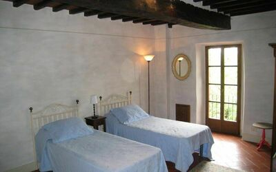 Villa Gallo Nero: 1 of the 2 bedrooms in the 1st floor