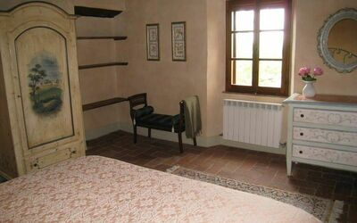 Villa Gallo Nero: 1 of the 2 bedrooms in the first floor