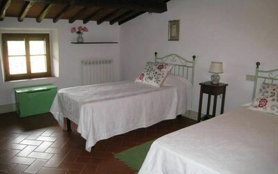 Villa Gallo Nero: 1 of the 3 bedrooms in the 2nd floor
