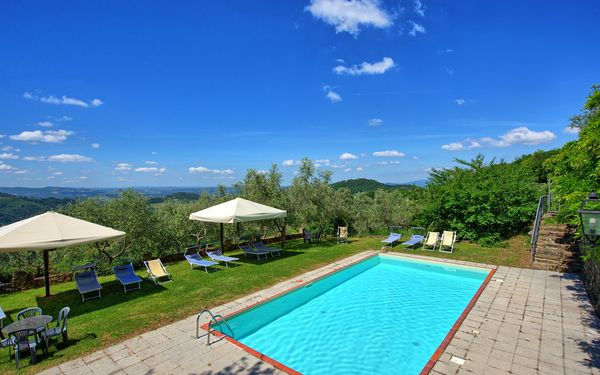 Villa Panzalla, Apartment for rent in San Polo In Chianti, Tuscany