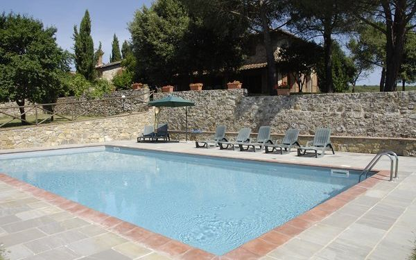 Villa Casavecchia in  Badia Agnano -Toskana