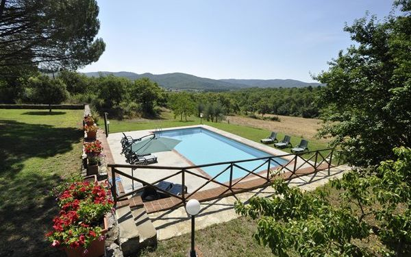 Villa Casavecchia in affitto a Badia Agnano