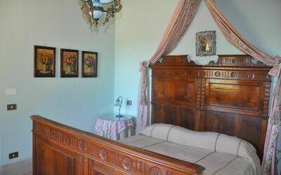 Vigna San Giuseppe: The Blue Room - Bed